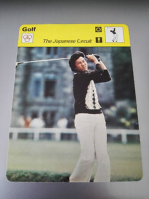 GOLF - ISAO AOKI / JAPANESE CIRCUIT - Sportscaster Photo Fact Card