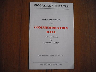 Piccadilly Theatre, London - Commemoration Ball - 1956