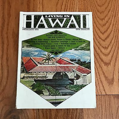 1973 Living In Hawaii For New Residents Customs Homes for Sale Magazine +++