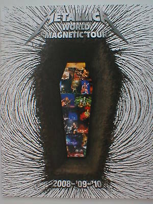 METALLICA world magnetic 2008/2009/2010 tour programme - 40 pages