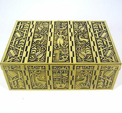 Erhard & Söhne Metall Dose / Schatulle Art Deco? Metal Box / Chest RARE ++