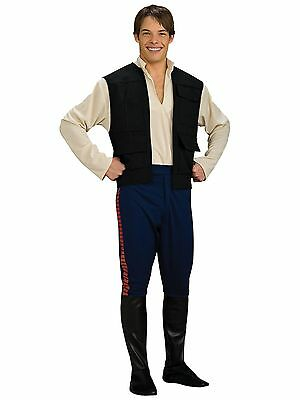 BRAND NEW Licensed Star Wars DELUXE ADULT HAN SOLO COSTUME