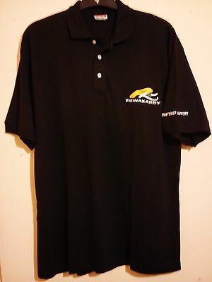 Powakaddy Customer Support Embroidered Black Golf Polo Shirt Clique Size Xl Vgc