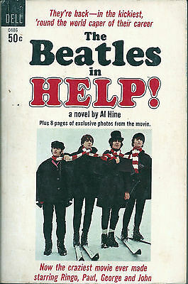 THE BEATLES  Help  1965   First Edition  Dell Pocket Book