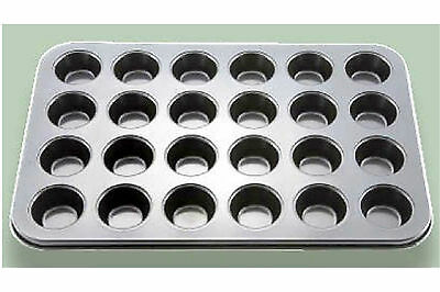 "1 PC Muffin Pan 24 SMALL CUP 1-3/4"" in Diameter Non Stick Baking Bake AMF-24MNS"