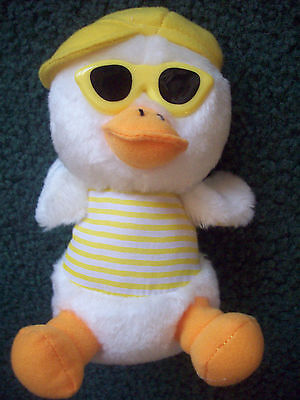 "EASTER CHICK Plush Wearing YELLOW Sunglasses  ~Cute in Easter Basket!  6.5""  NEW"