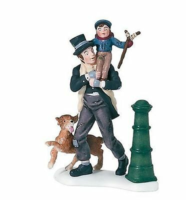 Dept 56 Dickens Village A Christmas Carol Tiny Tim and Bob Cratchit