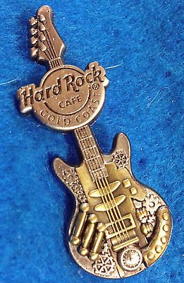 SURFERS PARADISE 2016 STEAMPUNK VICTORIAN INVENTORS GUITAR Hard Rock Cafe PIN LE