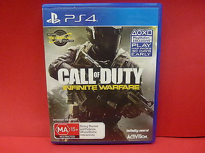 Sony Ps4 Call Of Duty Infinite Warfare Game