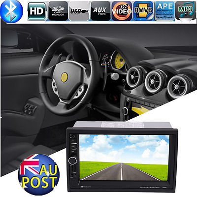 High Quality Car Audio Stereo MP5 Player 7 inch Touch Screen GPS Navigation F&