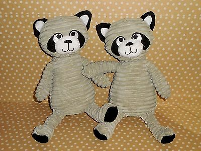 Chenille Darling STUFFED RACCOON Plush ANIMALS ** Kid's of Any Age