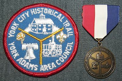 York-Adams Area Council New Birth of Freedom York City Historical Trail Medal