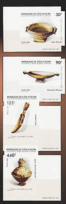 1986 Traditional Cooking Utensils Gastronomy Food Ivory Coast Folk.deluxe Ss Mnh