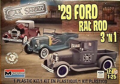 Revell 1929 Ford Rat Rod, 1/25, New (2012) Factory Sealed Box
