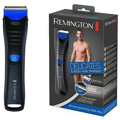 Remington BHT250 Men's Wet/Dry Delicate Area Body Hair Trimmer Clipper Shaver