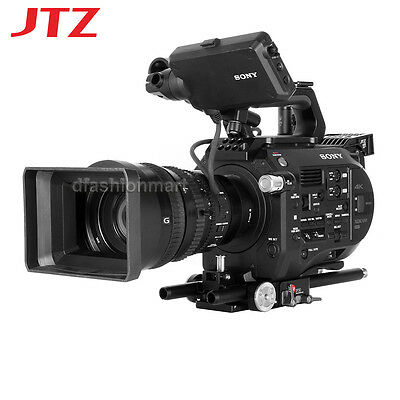 JTZ DP30 Baseplate Rig Standard 15mm Rod Support For Sony FS7 PXW-FS7 Camera NEW