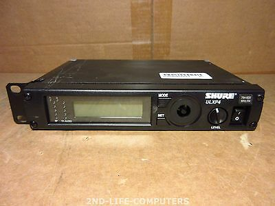 Shure ULXP4 Wireless Receiver 784-820 MHz R4 Radio Mic Microphone EXCL PSU