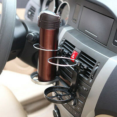Drink Bottle Cup Holder Stand Mount For Car Auto Truck Vehicle Folding Useful