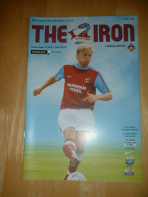 2010/11 Scunthorpe United V Oldham Athletic - League Cup