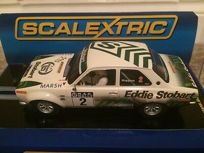 Scalextric Ford Escort MK1 Rally Car Eddie Stobart Limited Edition New Boxed
