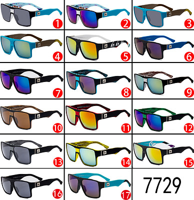 7729 Series QuikSilver Vintage Retro Men Women Outdoor Sunglasses Eyewear