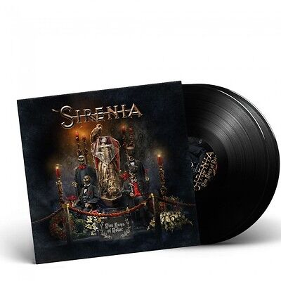 SIRENIA - Dim Days Of Dolor / BLACK 2-LP Gatefold NEW/NEU