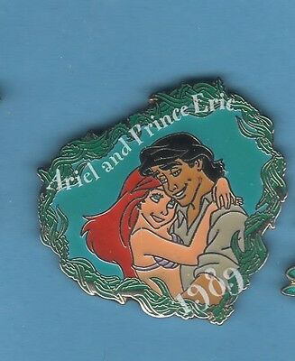 Disney  Ariel and Prince Eric Little Mermaid dated 1989  pin/pins