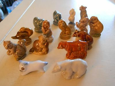 Mixed Lot Wade Whimsies Includes The Circus & Endangered Animals Polar Bear (H)