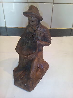 Well  Carved  Wooden  Figure