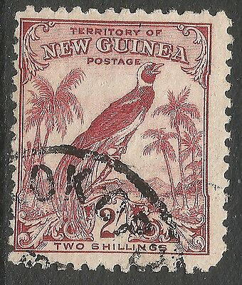 New Guinea. 1932 Bird of Paradise. 2/- Used. SG 186 D4214