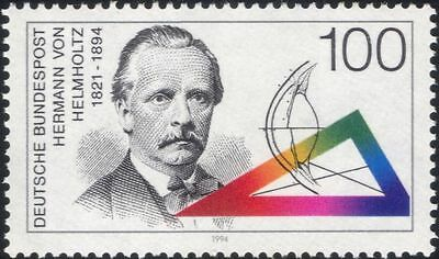 Germany 1994 Helmholtz/Science/Vision/Colour/Eyes/People/Scientists 1v (n44996)