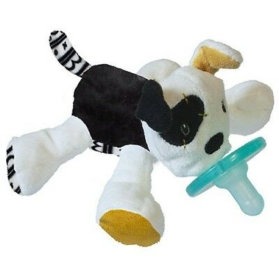 Wubbanub Tic Tac Toby Infant Soothie Pacifier Baby Binkie Puppy Dog Plush NEW