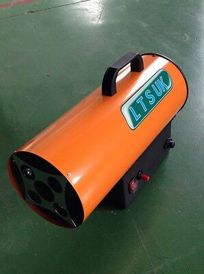 Gas Propane Space Heater New 15 Kw Ct15 Complete With Regulator