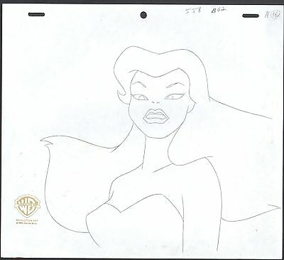 Batman The Animated Series IVY Animation Cell Drawing Warner Brothers 2*