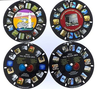 4x View-Master reels, NSA Conventions 2008, 2010, 2013