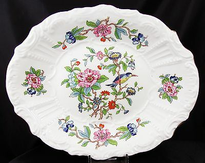 Very Pretty Large Aynsley Pembroke High Relief Bowl