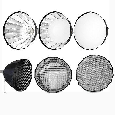 "PARA90GB 90cm 35"" Deep Hexadecagon Parabolic Para Honeycomb Grid Softbox Bowens"