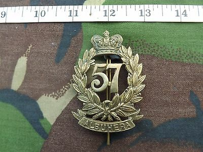 VICTORIAN 57th MIDDLESEX REGIMENT GLENGARRY BADGE