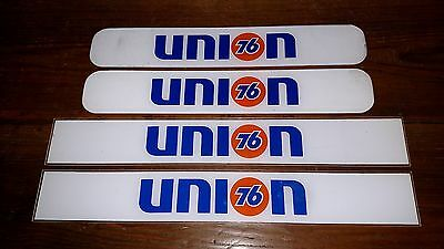 4 Union 76 Gas Pump Ad Panels--Nice Bright Colors For Your Gas Pump
