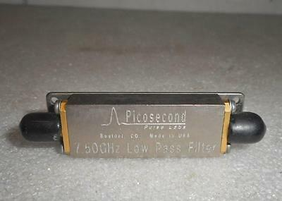 Picosecond Puls Labs 7.50GHz Low Pass Risetime Filter 5915-100-7.5GHz