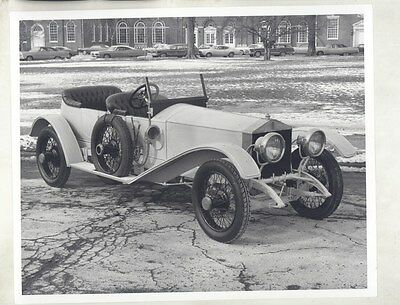 1913 Rolls Royce Silver Ghost Alpine Eagle ORIGINAL Photograph ww6691