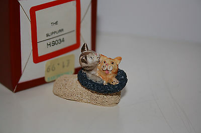"Peter Fagan Colour Box Cats ""the Slippurr"" Hs034, With Box, Rare, Retired"