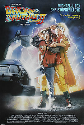 Back to the future 2 movie poster  A4 Size