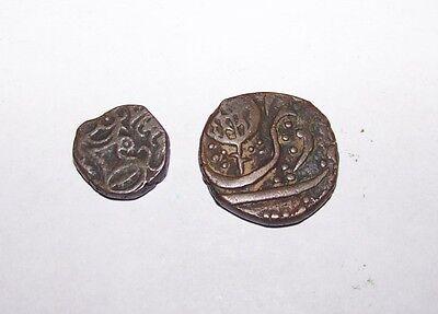 Lot 2 Vintage Antique Middle East Coins Arab Malaysia Byzantine