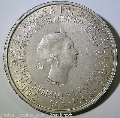 Luxembourg - 1963 250 Francs - Silver Coin