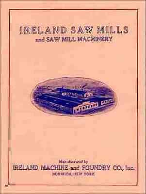 April 1950 Catalog S-50 Corley Sawmill Machinery and Supplies reproduction