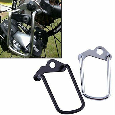 Cycling Bike Aluminum Bicycle Rear Gear Derailleur Chain Stay Guard Protector LN
