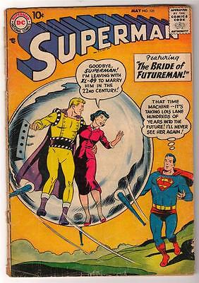DC Comics SUPERMAN age #121  2.0 Silver age G 1958
