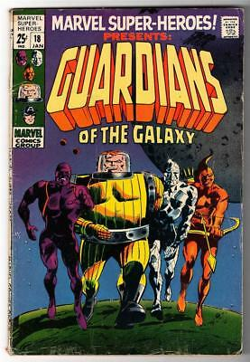 Marvel FN- 5.5 SUPER HEROES COMIC 18 GUARDIANS OF GALAXY 1st APPEARANCE