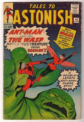 Marvel TALES TO ASTONISH 44  4.0 VG  ANT-MAN  1ST WASP GIANT MAN AVENGERS
